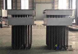 轩源科技32kw空气加热器出货