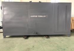 轩源科技400KW导热油炉调试