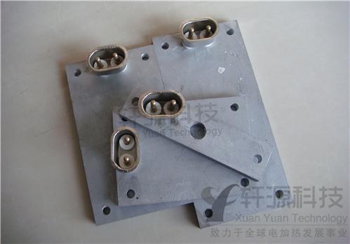 带插头铸铝加热板