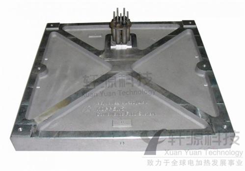 印画机铸铝加热板