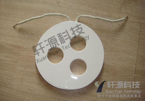 非标开孔陶瓷加热板