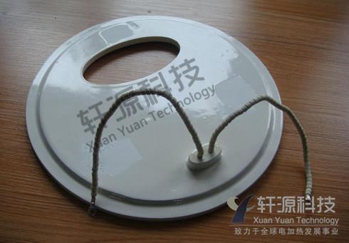 定制开孔陶瓷加热板