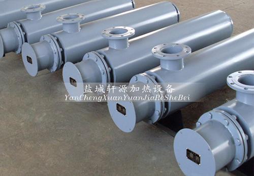 梅河口管道式空气加热器