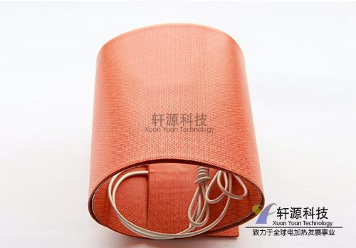 带保温层硅橡胶加热板