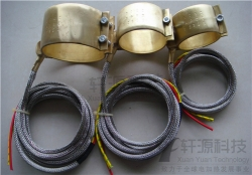 电加热铜皮圈