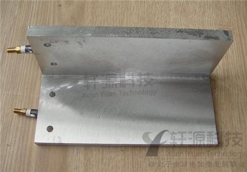 直角铸铝加热板
