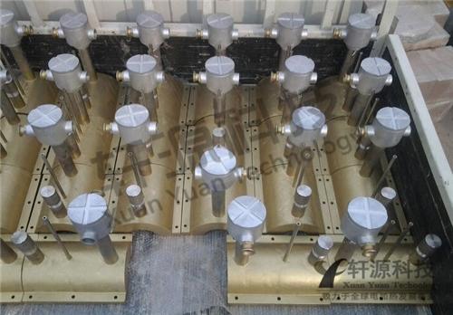 接线盒铸铜加热圈