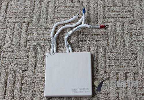 100×100带热电偶陶瓷加热平板