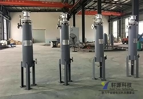 立式液压油管道加热器