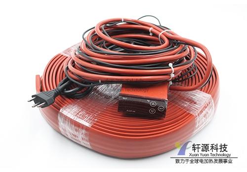 深圳数显温控硅橡胶加热带