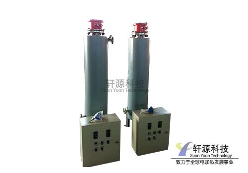 立式管道加热器带温控柜