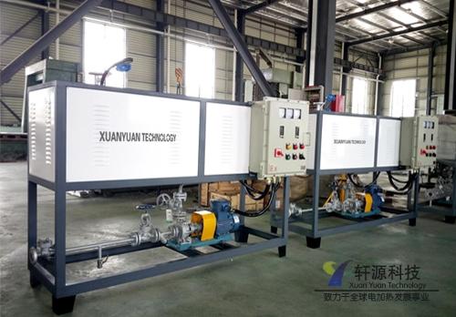 电加热导热油炉日常生产三步骤所包含的事项