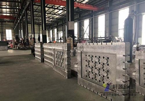 大型高精度铸铝加热板