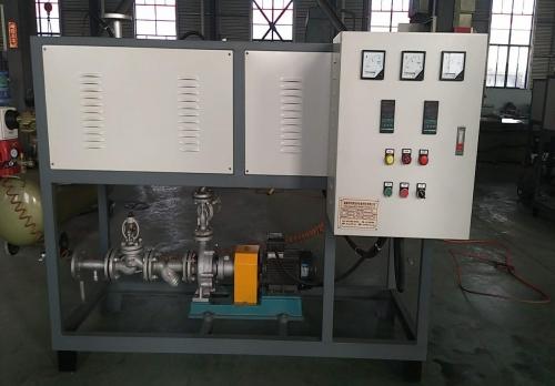 80KW化工用电加热导热油炉