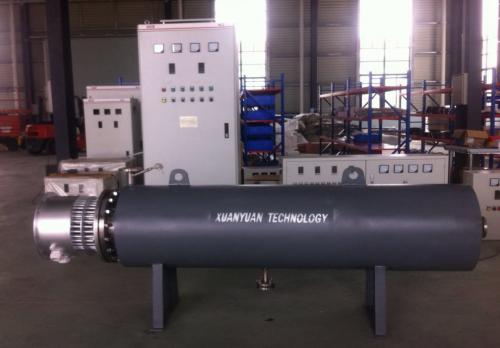 300KW管道加热器