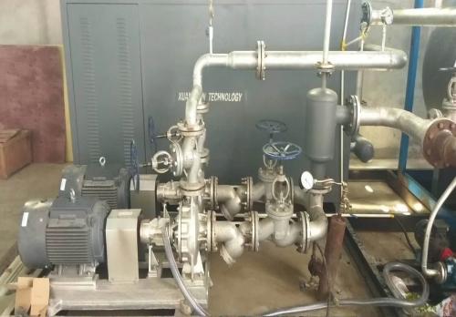 河北400KW化工导热油炉