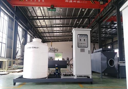 220KW 成套管道加热器