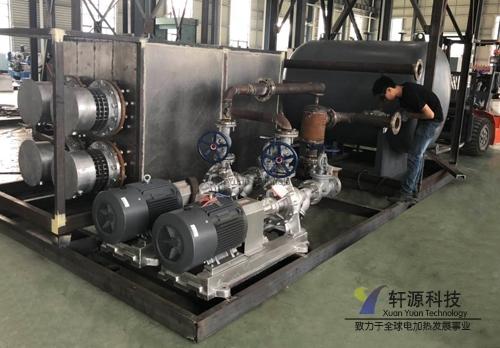 上海400KW化工导热油炉
