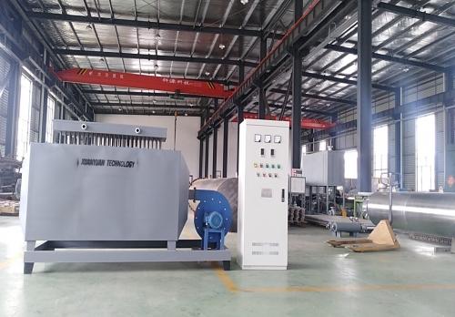 72KW撬装风道加热器
