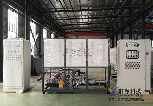 安徽轧辊电加热导热油炉