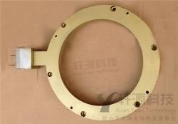 注意在铸铜电加热器进口加装过滤网