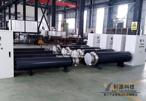 60KW熔喷布专用空气加热器