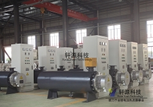 120KW熔喷布空气加热器