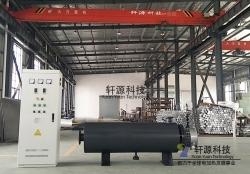 90KW熔喷布管道加热器