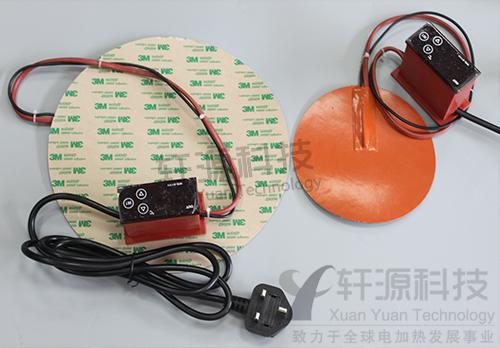5mm),硅胶电加热板( 硅橡胶加热器)具有很好的柔软性,可以与被加热